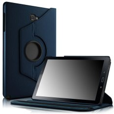 Buy Galaxy Tab A 10 1 With S Pen Case Smart Pu Leather 360 Degrees Rotating Stand Case Cover For Samsung Galaxy Tab A 10 1 With S Pen P580 Tablet Only Navy Intl Oem Cheap