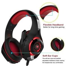 Gaming Headset Surround Stereo Headband Headphone 3.5mm Ultra Lightweight - intl