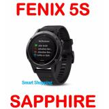 Sale Garmin Fenix 5S 42Mm Sapphire Glass W Cycling Maps And Golf Black Gm 010 01685 20 Singapore