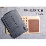 Review Gearmax Travellers Pocket Sleeve Water Resistant With Side Pockets Laptop Handbag For 13 3 Inch Macbook Air Pro Notebook Cover Bag 13 3 Inch Grey Intl Gearmax