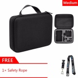 Review Gearbear Medium Size Carrying Case Protective Security Bag Gift Safety Lanyard For Gopro Hero 6 5 4 3 3 2 1 Session Sports Action Cameras Accessories On China