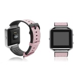 Purchase Genuine Leather And Tpu Breathable Strap Wristband For Fitbit Blaze With Stainless Steel Buckle Intl Online