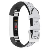 Buy Genuine Leather Tpu Breathable Porous Strap Wristband For Fitbit Alta Fitbit Alta Hr Intl Online