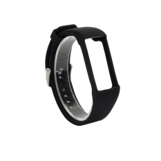 Price Comparisons Genuine Silicone Rubber Watch Band Wrist Strap For Polar A360 Smart Watch Bk Intl