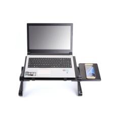 GETEK Adjustable Portable Folding Laptop Desk Computer Table Stand Tray For Bed Sofa
