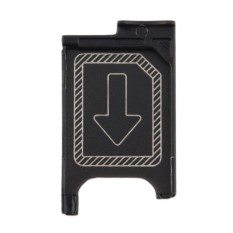 Gift Micro Sim Card Tray Holder Slot Replacement For Sony Xperia Z3 Z3 Compact Black -