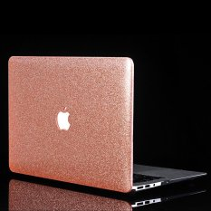 Glittery Leather Coated Plastic Cover For Macbook Air 13 3 Inch A1369 A1466 Rose Gold Intl For Sale Online