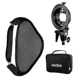 Sale Godox 80 80Cm 31 31 Flash Softbox Diffuser With S Type Bracket Bowens Holder For Speedlite Flash Light Intl Godox Cheap