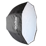 Best Offer Godox Portable Octagon Softbox 80Cm 31 5In Umbrella Brolly Reflector For Speedlight