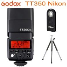 Godox Tt350N Nikon Hss 1 8000S Ttl 2 4G Wireless Mini Flash For Speedlite Nikon Black Best Buy