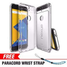 Price Comparisons Google Nexus 6P Case Ringke Fusion Crystal Clear Minimalist Transparent Pc Back Tpu Bumper Drop Protection Scratch Resistant Protective Cover For Nexus 6P Intl