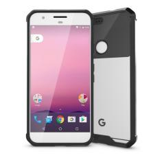 Google Pixel Xl Transparent Crystal Bumper Case Casing Cover For Google Pixel Xl Scout Black Deal