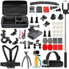 Buy Gopro Accessories Head Strap Chest Strap Floating Handlegrip360Rotary Quick Clip For Gopro Hero4 3 3 Sjcam 5000 6000 4000 Intl Oem Online