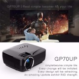 Gp70Up Android 4 4 Mini Led Projector With Google Play Updated By Gp70 Portable Projector 1G 8G Bluetooth Wifi Tv Beamer Intl Review