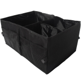 Price Comparisons For Gracefulvara Car Boot Tidy Bag Multi Use Storage Bag Black