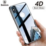 Sale Grey Baseus For Iphone X Back 4D Full Screen Coverage Film Screen Protector Tempered Glass Back Cover Glass Film For Iphonex 10 Intl Online China