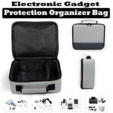 Discount Grey Canon Selphy Cp1200 Cp910 Protective Portable Printer Travel Organiser Bag Singapore