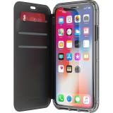 Cheapest Griffin Iphone X Survivor Clear Wallet Black Clear Gb43691