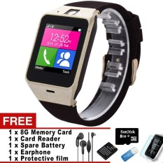 Discounted Gv18 Smartwatch Bluetooth Smart Watch Wearable Devices For Android Ios Phone Support Sim Sms Gprs Nfc Fm Pk Dz09 Gt08 Intl