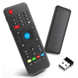 Lowest Price H1 2 4Ghz 6 Axis Fly Air Mouse Wireless Keyboard Full Touchpad Remote Control Ir Learning For Smart Tv Android Tv Box Laptop Pc Intl