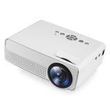 For Sale H100 Led Portable Projector Home Theater 2000 Lumens 800 X 480P Support 1080P Intl