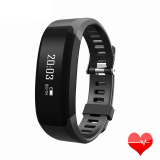 Promo H28 Smart Wristband Heart Rate Monitor Smart Watch Bracelet Wrist Pedometer Bluetooth Smart Band For Ios Android Black