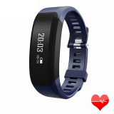 Sale H28 Smart Wristband Heart Rate Monitor Smart Watch Bracelet Wrist Pedometer Bluetooth Smart Band For Ios Android Blue Oem Branded
