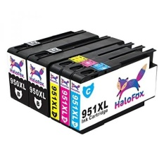 Best Deal Halofox Ink Cartridges Replacement Compatible For Hp 950 951 950Xl 951Xl Use With Hp Officejet Pro 8610 8620 8100 8660 8600 8615 8625 8630 8640 251Dw 271Dw 276Dw Printers Updated Chip 2B Cmy Intl