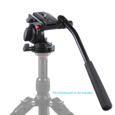 Handgrip Video Photography Fluid Drag Hydraulic Tripod Head For Canon Nikon Dslr Camera Camcorder Max Load Capacity 5Kg 11Lbs Aluminum Alloy Outdoorfree Shopping