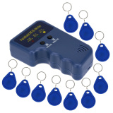 Who Sells Handheld 125Khz Rfid Id Card Writer Copier Duplicator 10Pcs Writable Em4305 Key Cards The Cheapest