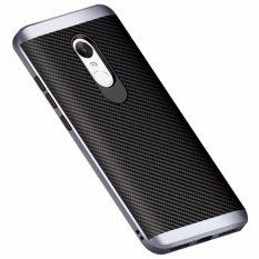 Hard Pc Silicone Protector Back Case Cover For Xiaomi Redmi Note 4 Dark Blue Intl Price