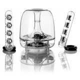 Harman Kardon Soundsticks Iii 2 1 Channel Multimedia Speaker System With Subwoofer Free Bluetooth Adaptor In Stock