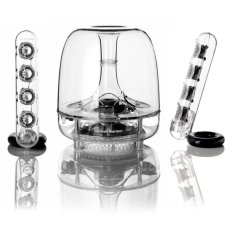 Low Price Harman Kardon Soundsticks Iii 2 1 Channel Multimedia Speaker System With Subwoofer Free Bluetooth Adaptor