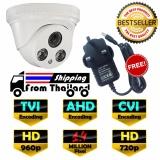 Buy Cheap Hd Cctv Dome Camera 1 4 Mp Ahd Cvi Tvi New Exir 2017 Model 720P 960P 4Mm Lens Free Adapter Intl