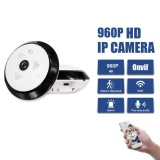 Buy Hd Fisheye Ip Camera Wireless 960P 360 Degree Mini Cctv Camera1 3Mp Network Home Security Wifi Camera Panoramic Infared Cam Intl Cheap On China