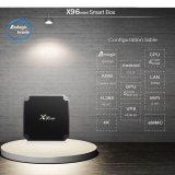 Hd X96 Android 7 1 Smart Mini Tv Box Black 1 8G Memory Smart Set Top Box Intl Shopping