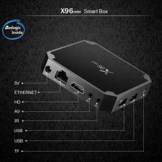 Buy Hd X96 Convenient Mini Tv Box Set Top Black Box Android 7 1 2 16G Memory Intl Online