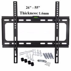 Best Price Hdtv Wall Mount Tv Flat Panel Fixed Mount Flat Screen Bracket With Max 200 200 Vesa Compatibility And Max 50Kg Loading Capacity For 26 55 Screen Lcd Led Plasma Tv