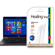 HealingShield Dell Latitude E7440 Blue-Light Cut Type Screen Protector 1pcs + TOP Surface Protector Skin 2pcs