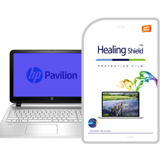 HealingShield HP Pavilion 15-P080TX Blue-Light Cut Type Screen Protector 1pcs + TOP Surface Protector Skin 2pcs