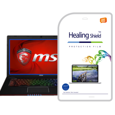 HealingShield MSI GE70-2PE/2PC Clear Type Screen Protector 1pcs + TOP Surface Protector Skin 2pcs