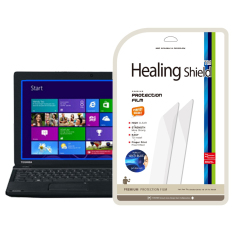 HealingShield Toshiba Satellite C50D-A Blue-Light Cut Type Screen Protector 1pcs + TOP Surface Protector Skin 2pcs