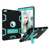 Heavy Duty Case Shock Absorption 3 In 1 Combo Hybrid Armor Hard Back Case Kickstand Cover For Apple Ipad Air Ipad 5 Intl Shop