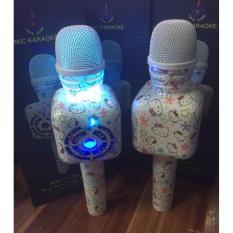 Hello Kitty White Blue Bluetooth Microphone Singapore