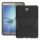 Price Comparisons Of High Impact Rugged Shockproof Kickstand Case For Samsung Galaxy Tab S2 8 T710 Black