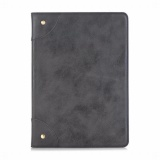 High Quality Book Retro Leather Case For New Ipad 2017 9 7 Business Foldable Stand Card Smart Cover For Apple Ipad 2017 Case Black Intl Price Comparison