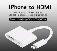 Discount High Quality Lighting To Av Hdmi Hdtv Tv Digital Cable Adapter For Iphone 5 5S 6 6S 7 7Plus Ipad Pro Intl Oem On China