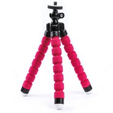 Latest High Quality Mini Flexible Foam Legs Octopus Tripod Stand Red