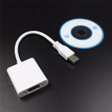 New High Quality Usb 3 Usb 2 To Vga Video Graphic Card Display External Cable Adapter White Intl