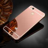 Who Sells High Quanlity Mirror Metal Aluminum Case Ultra Slim Acrylic Back Cover For Xiaomi Redmi 4X 5 Inch Case Luxury Rose Gold Intl The Cheapest